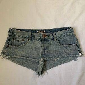 One Teaspoon ✖️ No 2s Romance Jeans Shorts